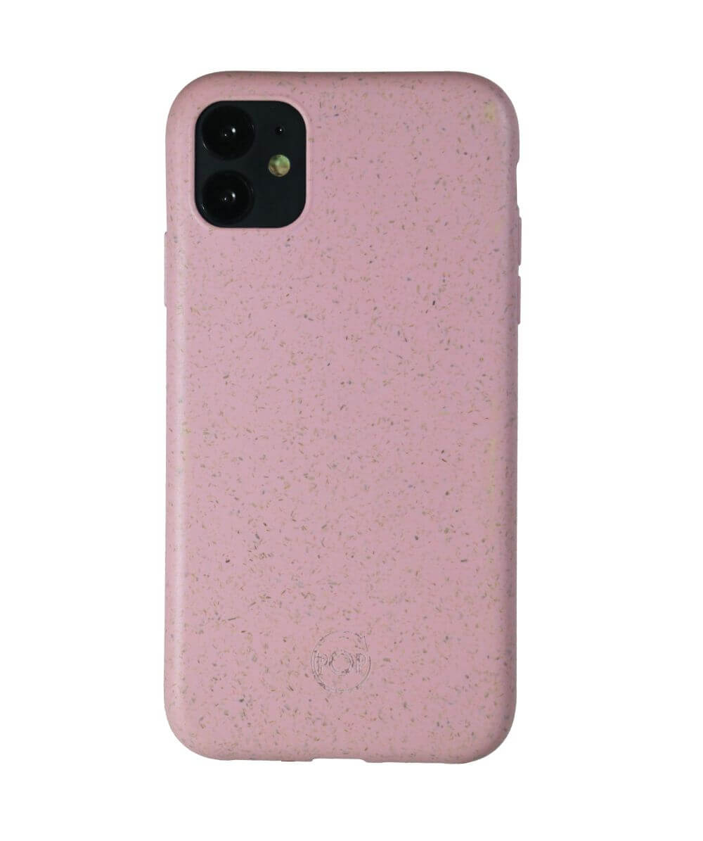 biodegradable phone cases in pink