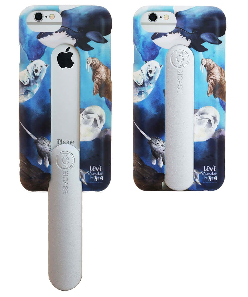 recycled iPhone case with animals